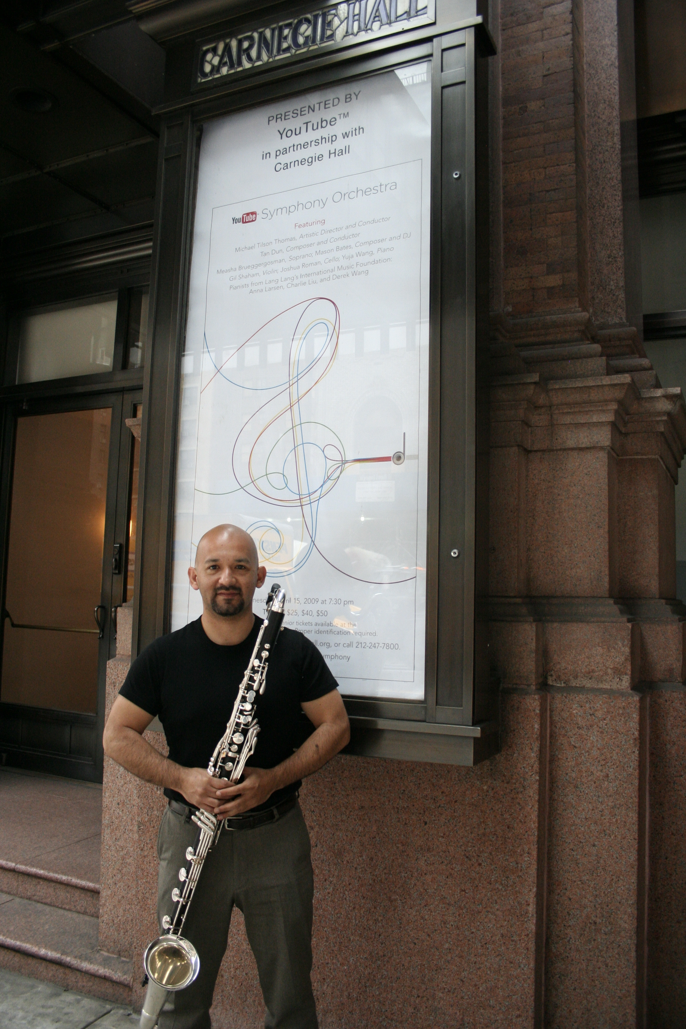 Marco Mazzini at Carnegie Hall